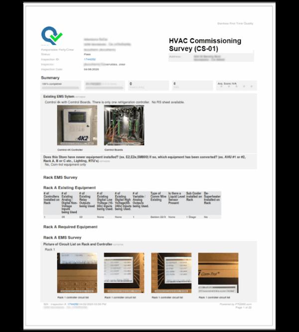 CX Commissioning